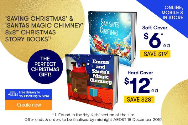 Saving Christmas or Santas Magic Chimney 8x8 Christmas Story Book titles - Just $6.00 ea Soft Cover & $12.00 ea Hard Cover *1