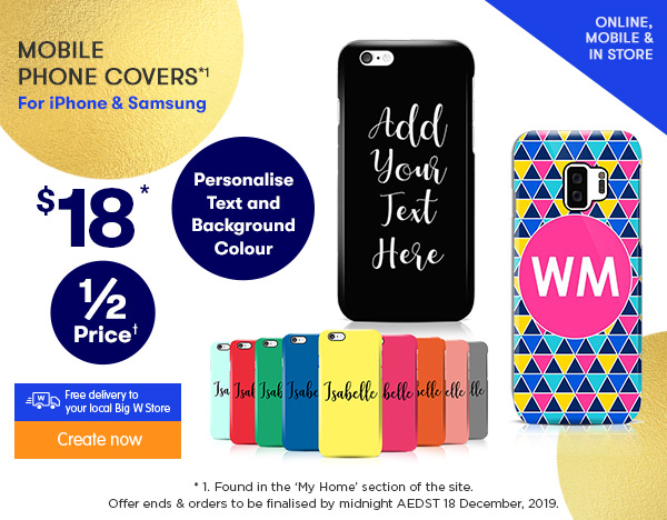 3D-Wrap Mobile Phone Designer Covers $18 - feat. NEW iphone & Galaxy models*1