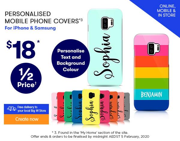 $18 3D-Wrap Mobile Phone Designer Covers *3
