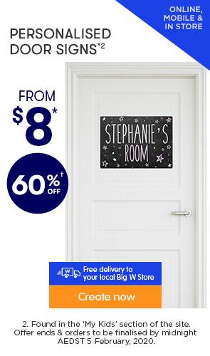 60% off ALL Door Signs *2