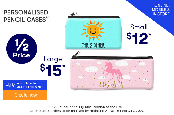Pencil Cases - Small $12 & Large $15 *2