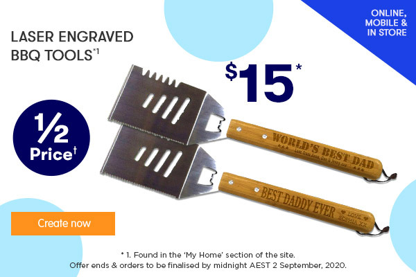 Engraved - BBQ Tool $15.00 *1