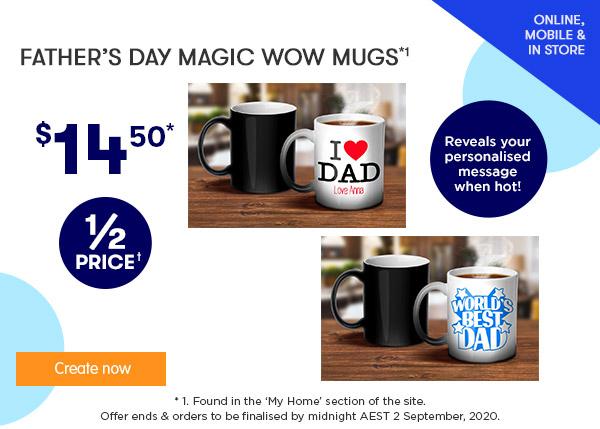 FD Designs - $14.50 FD Magic WOW Mugs *1