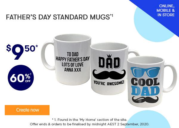 FD Designs - $9.50 for FD Standard Mugs *1
