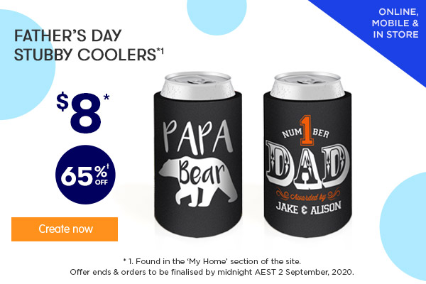 FD Designs - $8.00 for FD Stubby Coolers *1