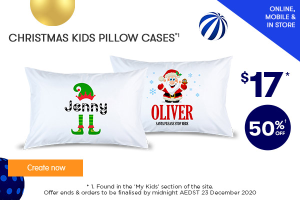 NEW - $17 for Christmas Kids Pillow Cases