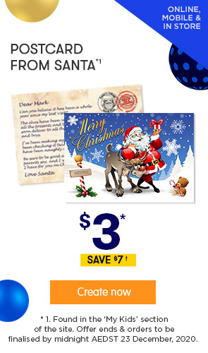 $3 for Postcard from Santa *1
