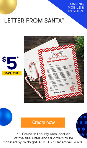 $5 for A Letter from Santa