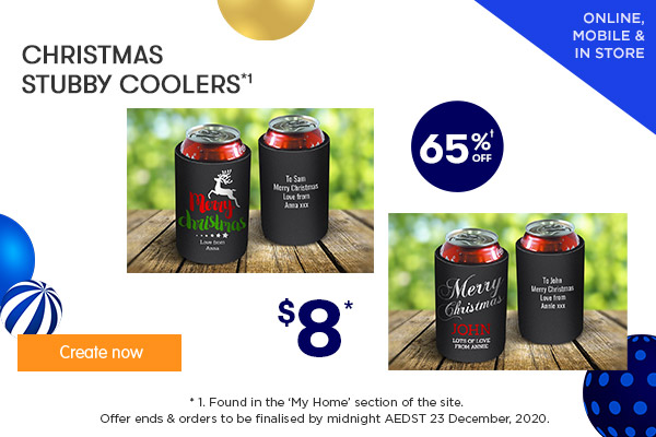 $8 for Stubby Coolers