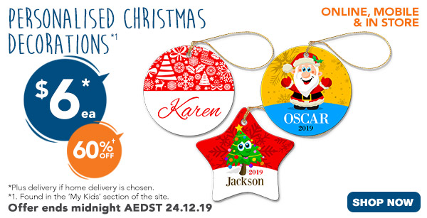 $6 for Christmas Ornaments - Star & Round
