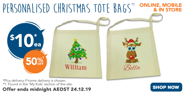 $10 for Christmas Tote Bags (All Tote Bags)