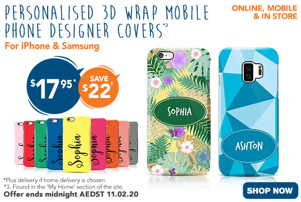 $17.95 3D-Wrap Mobile Phone Designer Covers (BRAND NEW iphone & Galaxy models)  *3