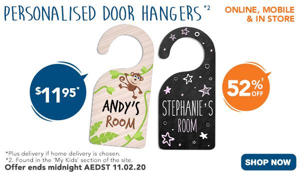 $11.95 ALL Door Hangers*2